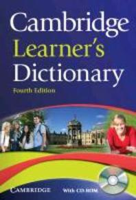 Cambridge Learner's Dictionary [With CDROM]