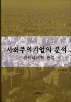 사회주의기업의 분석: 경제체제적 관점