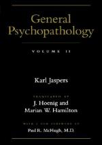 General Psychopathology, 2