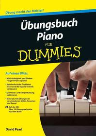?bungsbuch Piano fuer Dummies