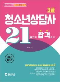 청소년상담사 3급 21일 만에 합격하기(2021)