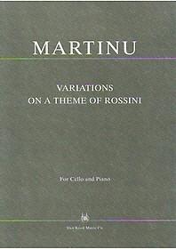 첼로 마르티누 로시니 주제에 의한 변주곡 가단조