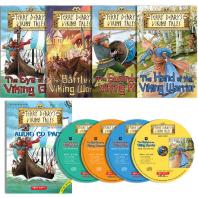 테리디어리 바이킹 역사이야기(Terry Deary's Historical Viking Tales) 4종 세트(B+CD)