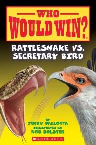 Rattlesnake vs. Secretary Bird (Who Would Win?), Volume 15