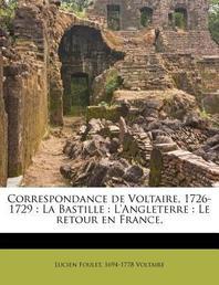 Correspondance de Voltaire, 1726-1729