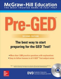 McGraw-Hill Education Pre-GED with DVD, Second Edition [With DVD]