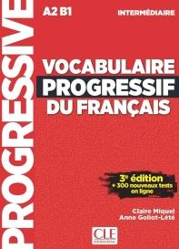 Vocabulaire progressif du francais - Niveau intermediaire - 3eme edition - Livre + CD + Appli-web