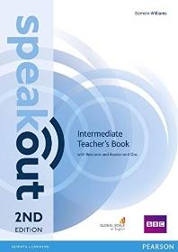 Speakout Intermediate Teachers Guide + Disc