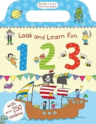 Look and Learn Fun 123 with stickers