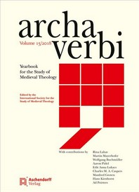 Archa Verbi, Volume 15/2018