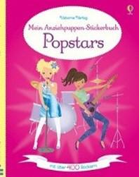 Mein Anziehpuppen-Stickerbuch: Popstars