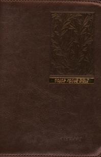 컬러 포커스 성경(잎새 버건디)(개역개정)(새찬송가)(소)(지퍼)(색인)