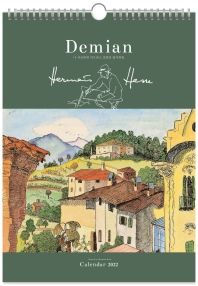 Demian 헤르만 헤세의 나 자신에게 이르려고 걸었던 발자취들 벽걸이 달력(대형)(2022)