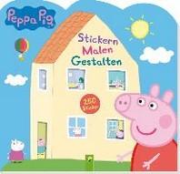 Peppa Pig Stickern Malen Gestalten