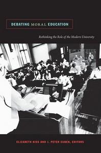 Debating Moral Education