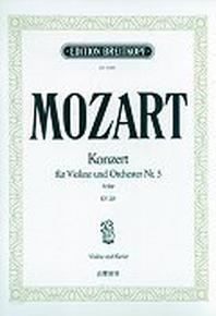 MOZART KONZERT FUR VIOLINE UND ORCHESTER NR.5 A-DUR KV 219