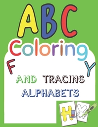 ABC coloring and tracing alpabets