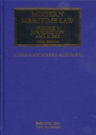 Modern Maritime Law, Volume 1