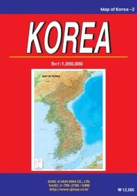 MAP OF KOREA(영문지도)