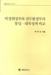 박정희정부와 전두환정부의 통일 대북정책 비교