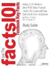 Studyguide for Business Driven Pmo Setup