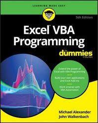 Excel VBA Programming for Dummies