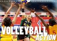 Volleyball Action (Wandkalender 2022 DIN A4 quer)