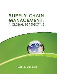 Supply Chain Management : Global Perspective