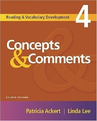 Reading & Vocabulary Development 4 : Concepts & Comments
