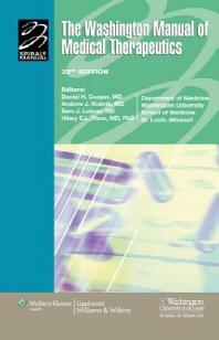 Washington Manual of Medical Therapeutics, 32/e