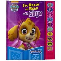 [퍼피구조대] Nickelodeon Paw Patrol - I'm Ready to Read with Skye Sound Book - Pi Kids
