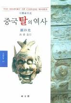 중국탈의 역사