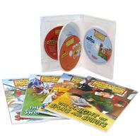 테리디어리 중세유럽 기사이야기(Terry Deary's Historical Knight's Tale) 4종 세트(B+CD)