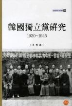 한국독립당연구(1930-1945)