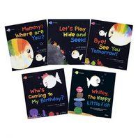 [한울림어린이] 아기 물고기 하양이 영문판 전5권 + CD1장/ Little Fish Whitey