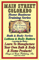 Manufacturing Body Lotions & Body Butters
