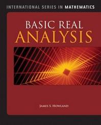 Basic Real Analysis (Hardcover)