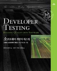 소프트웨어 개발자 테스팅