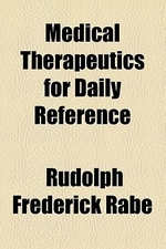 Medical Therapeutics for Daily Reference