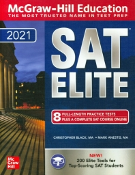 McGraw-Hill Education SAT Elite 2021