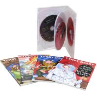 테리디어리 튜더왕조 이야기(Terry Deary's Historical Tudor Tales) 4종 세트(B+CD)