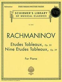 Etudes Tableaux, Op. 33 And 39
