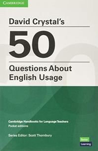 David Crystal's 50 Questions about English Usage Pocket Editions