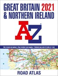 Great Britain A-Z Road Atlas 2021 (A3 Paperback)