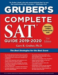 Grubers Complete SAT Guide 2019-2020(Paperback)(Paperback)