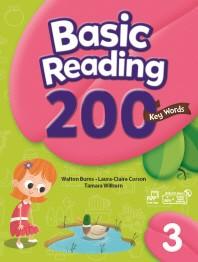 Basic Reading 200 Key Words. 3