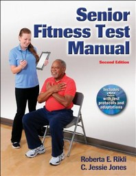 Senior Fitness Test Manual [With DVD]