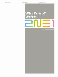 What's up We're 2NE1