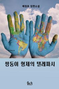쌍둥이 형제의 텔레파시 - 배정호 장편소설