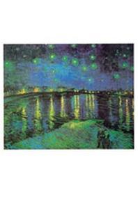 재원브로마이드. 27: 고흐/별이 빛나는 론 강변의 밤 풍경